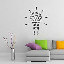 Wall Sticker 43Cm*52Cm The Best Way to Have A Good