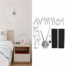 Wall Sticker Clock, Large-Size Wall Clock, for