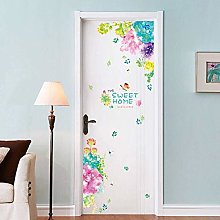 Wall Sticker Colorful Flower Wall Stickers Sweet