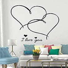 Wall Sticker Removable PVC Wall Sticker I Love You