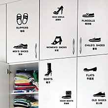 Wall Sticker,Shoe Cabinet Logo Sticker PVC Wall