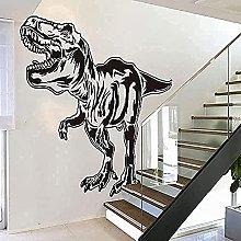 Wall Stickers Art Decals Decoration Dinosaur Wood