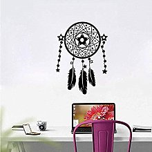 Wall Stickers Bedroom Feathers Home Decor