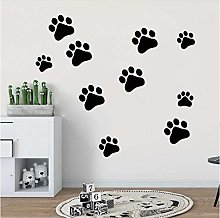 Wall Stickers Decals Mural Dog Cat Paw DIY Vinyl