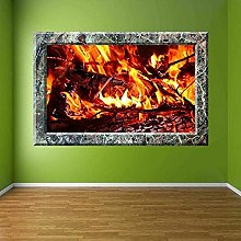 Wall Stickers Fireplace Decoration Wall Stickers