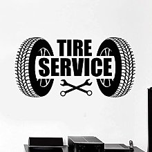 Wall Stickers Vinyl Wall Decal Car Tire Service