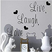 Wall Stickers Wall Sticker Live Life Laugh Mural