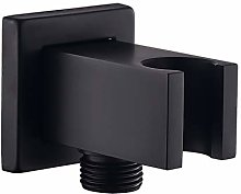 Wall Supply Elbow with Hand Shower Holder, Keymark