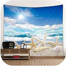 Wall Tapestry| Baiyun Beach Starfish Print Large