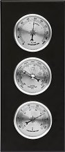 Wall Weather Station Barometer Thermometer
