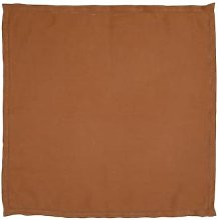 Wallace Cotton - Dine Linen Napkin - amber -
