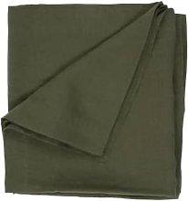 Wallace Cotton - Loft Linen Fern Tablecloth Medium