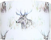 Wallace Stag Voyage Lampshade (40 cm Diameter x 25