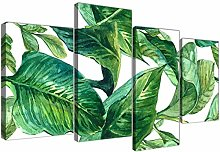 Wallfillers Large Green Palm Tropical Banana