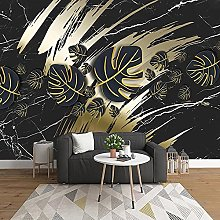 WALLPACL Photo Mural Wallpaper 3D Creative Black