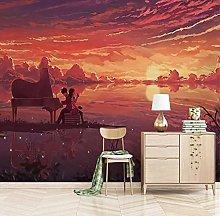 WALLPACL Photo Mural Wallpaper 3D Romantic