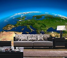WALLPACL Photo Mural Wallpaper Earth Oversized