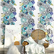 Wallpaper 10M X 0.53M Fresh Rural Style Wallpaper