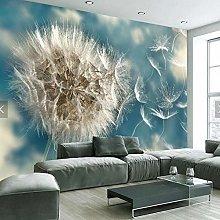 Wallpaper 3D Dandelion Nordic Minimalist Sofa Tv