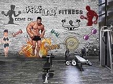 Wallpaper 3D Decoration Murals Wall I Love Fitness