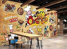 Wallpaper 3D Decoration Murals Wall Retro