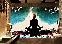 Wallpaper 3D Fitness Yoga Mural Wallpaper 3D Wall
