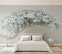 Wallpaper 3D Trees DIY Living Room Bedroom Mural