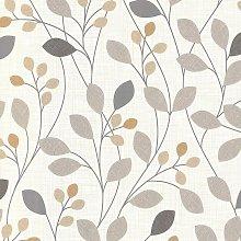 Wallpaper Belgravia - Retro Leaves Trail / Sparkle