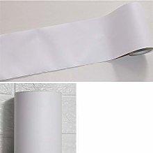 Wallpaper Borders Self-Adhesive Pure White for