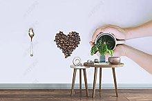 Wallpaper Cafe Simple Monotony I Love You