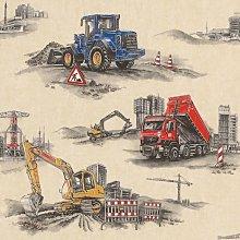 Wallpaper Coverings - Transport Construction