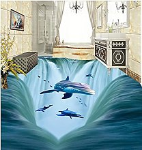 Wallpaper for Bathroom Waterproof 3D Waterfalls