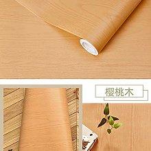 Wallpaper for Bathroom Waterproof Wood Vinyl