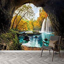 Wallpaper for Bedroom Forest Cave 59x39.5 inch