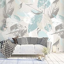 Wallpaper for Bedroom Light-Colored Leaves 79x59