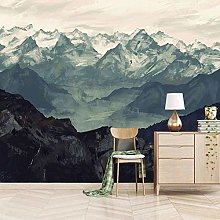 Wallpaper for Bedroom Natural Mountain View