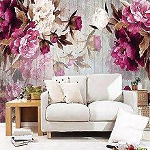Wallpaper for Bedroom Pink Flower 157.5x110.2inch
