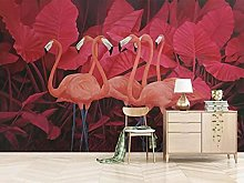 Wallpaper for Bedroom Red Flamingo 79x59 inch