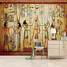 Wallpaper for Bedroom Retro Indians 79x59 inch