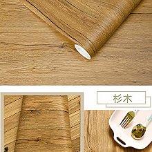 Wallpaper for Bedroom Waterproof Wood Vinyl