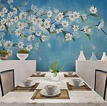 Wallpaper for Bedroom White Flower Tree