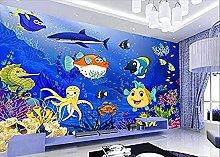 Wallpaper for Kids Room Mural 3D Underwater World