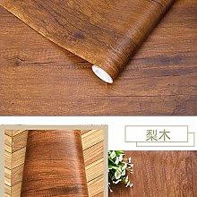 Wallpaper for Kitchen Waterproof Wood Vinyl