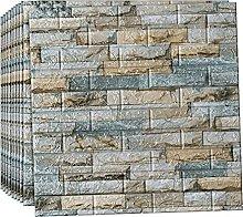 wallpaper for living room,3D Tile Brick Wall