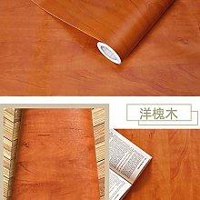 Wallpaper for Living Room Modern Waterproof Wood