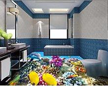 Wallpaper for Walls 3 D Flooring Coral Reef