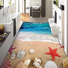 Wallpaper for Walls 3 d Sea Wave Shell Living Room