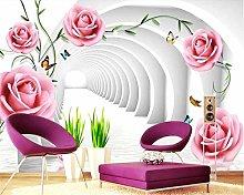 Wallpaper for Walls in Rolls Mural Fantasy Flower