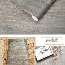 Wallpaper Grey Waterproof Wood Vinyl Wallpaper
