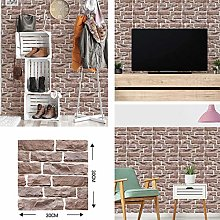 Wallpaper Hot Sale 3D Brick Stone Wood Wallpapers